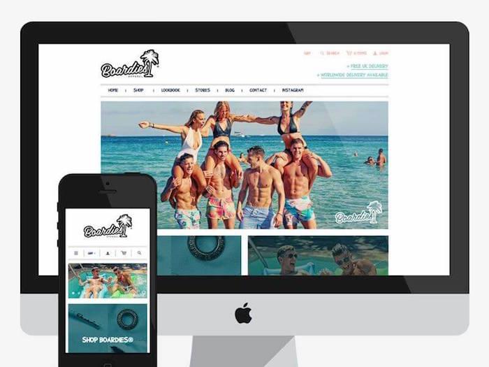 We make websites case